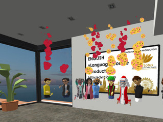 Gold Lotus VR Languages Partners with Educators in VR for VR English Course in Altspace