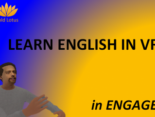 December VR English Classes in ENGAGE