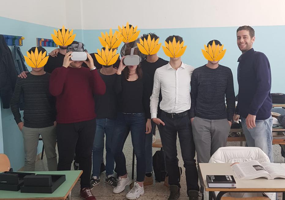 Realta Virtuale Scuola Italia Inglese