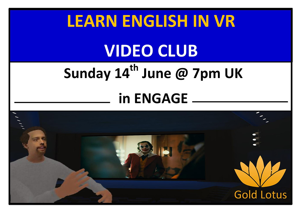 Learn English in VR