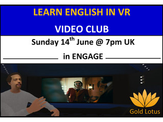 Learn English in VR Video Club