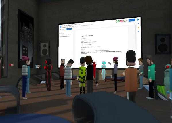 Learn English in VR with Gold Lotus 1