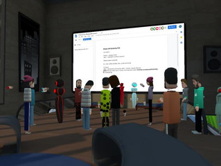 AltspaceVR English Lesson with Gold Lotus