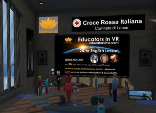 24 Hour VR English Lesson Fundraiser