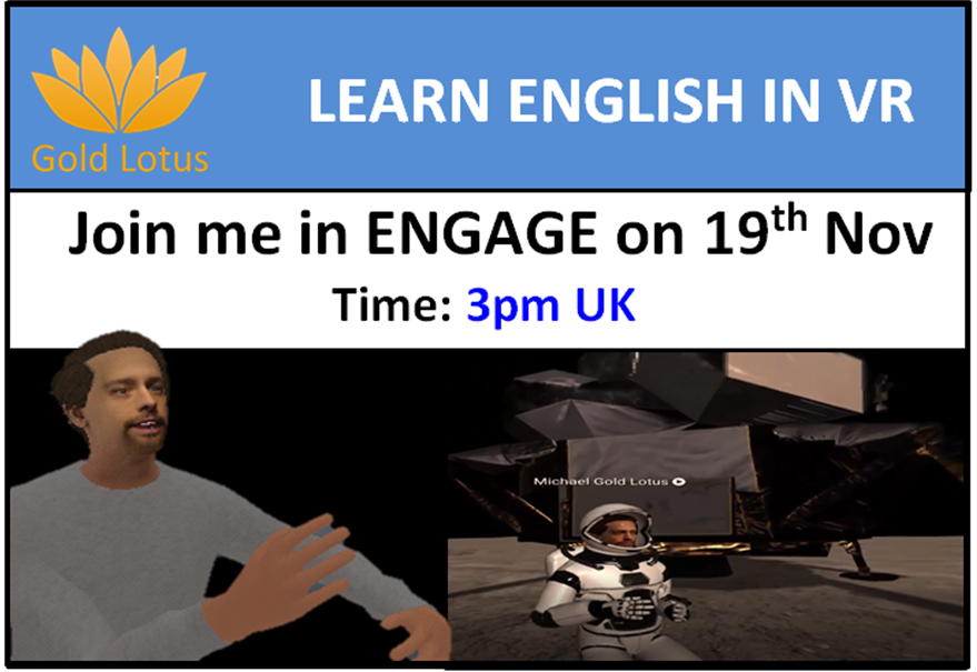 Learn English in VR on ENGAGE