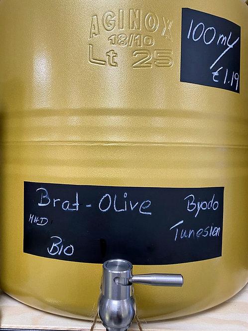 Brat-Olive, Olivenöl zum Braten
