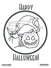 Halloween Cat Coloring Page.png