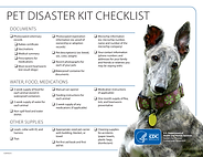 CDC Pet Disaster Kit Checklist Canine.pn
