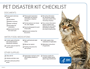 CDC Pet Disaster Kit Checklist Feline.pn