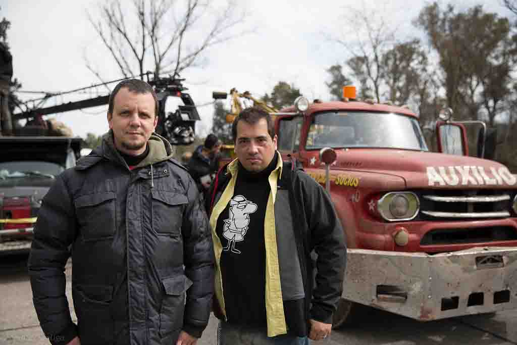 Ramiro Garcia Bogliano y Daniel De la Vega