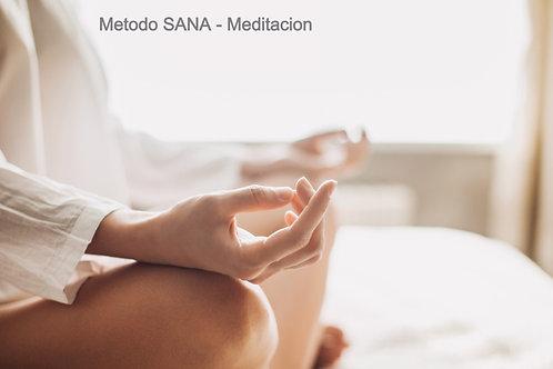 Metodo SANA - Meditacion