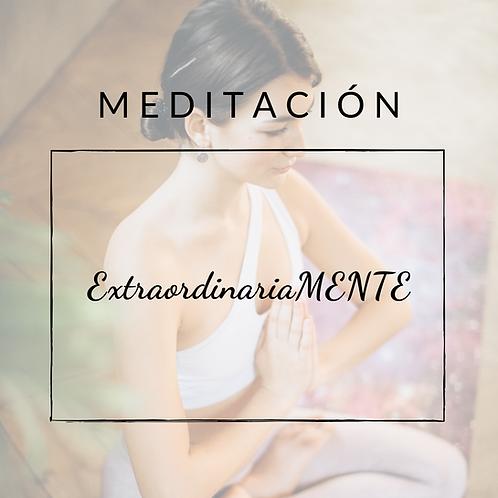 Meditaciones ExtraordinariaMENTE