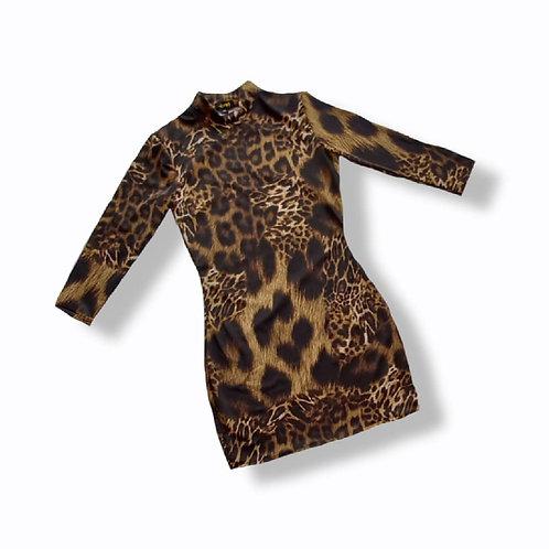 Vestido Bodycon Leopardo