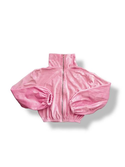 Polerón globe furry pink