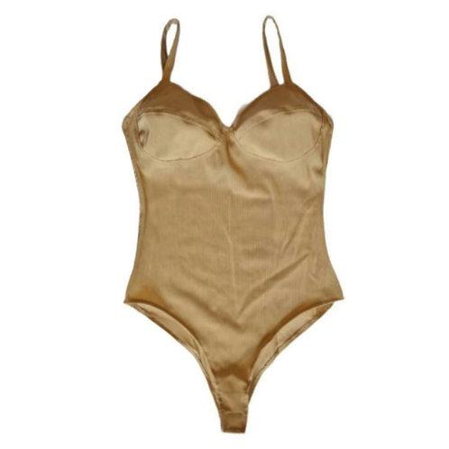 Body bustier Nude malla
