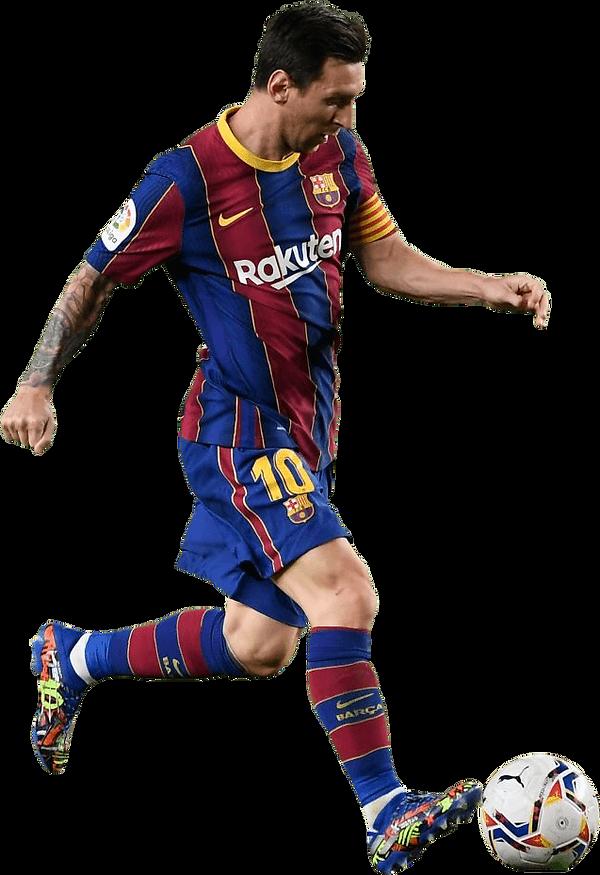 Lionel Messi dribbling- FootyRenders.png