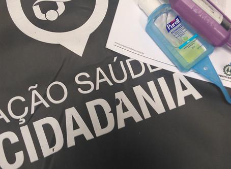 Coopercreci ACSC apoia ação social realizada no Rio de Janeiro