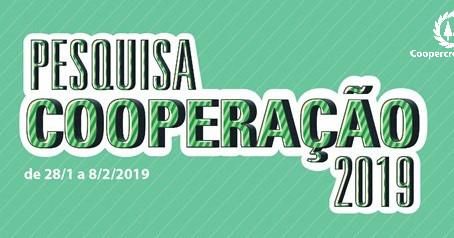 Pesquisa Cooperação 2019: responda e concorra a prêmios!