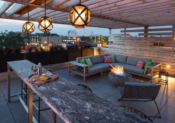 Upscale Rooftop