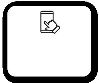Usuário acessando o prontuário digital da Clinicorp pelo celular