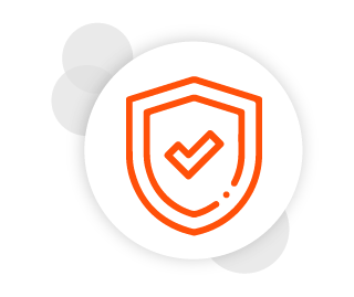 Escudo representando a segurança de dados do sistema Clinicorp