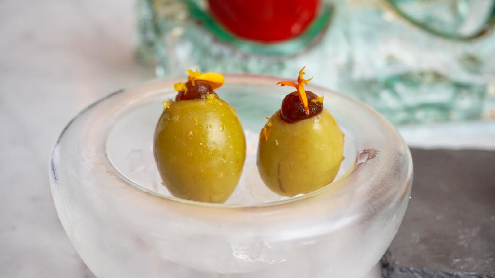 Olives al Vermouth