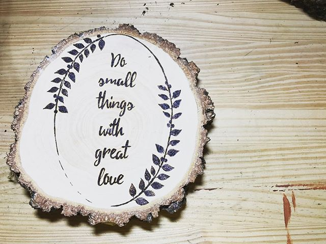 #pyrography #momblogger #momlife #woodworking #woodburning #wood #littlethings #momwithtattoos