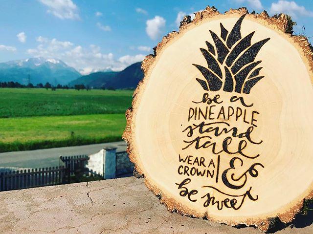 #austria #woodlover #woodburning #pyrographyart #pyrography #letterbrush #pineapple