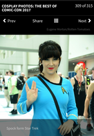 Comic Con Cosplay, Spock