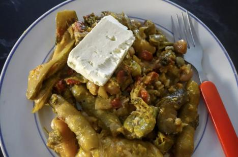 Fassolakia (Green Bean Casserole)