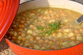 Revithatha (Chickpea Soup)