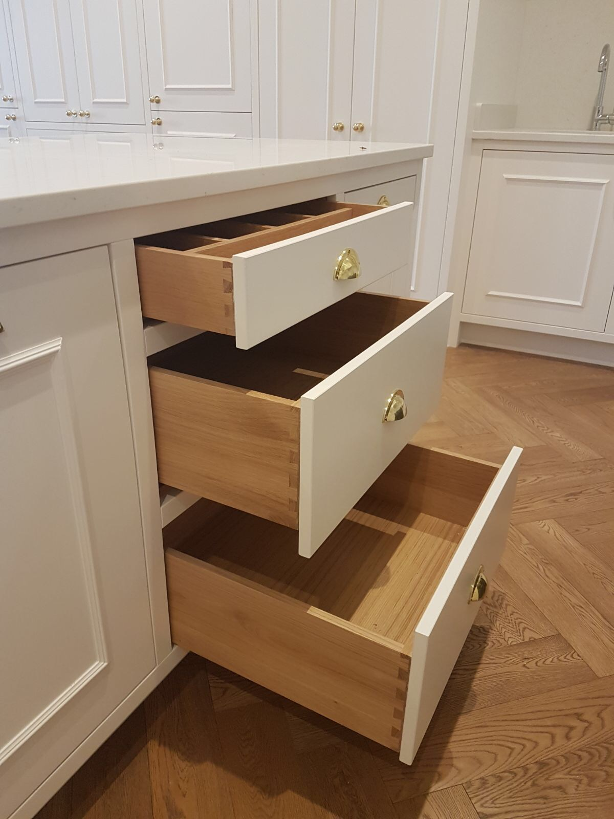 Hand-crafted drawers