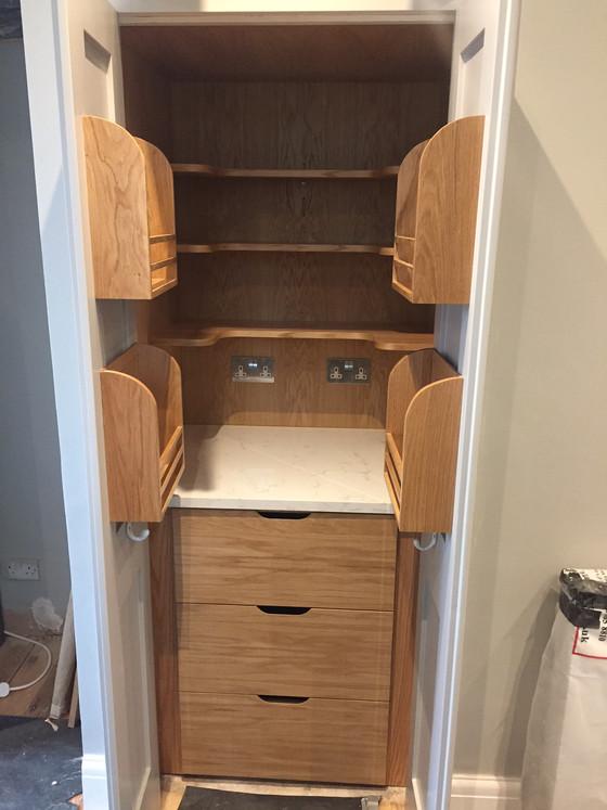 Customised pantry cupboard