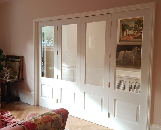 Hand made interior doors