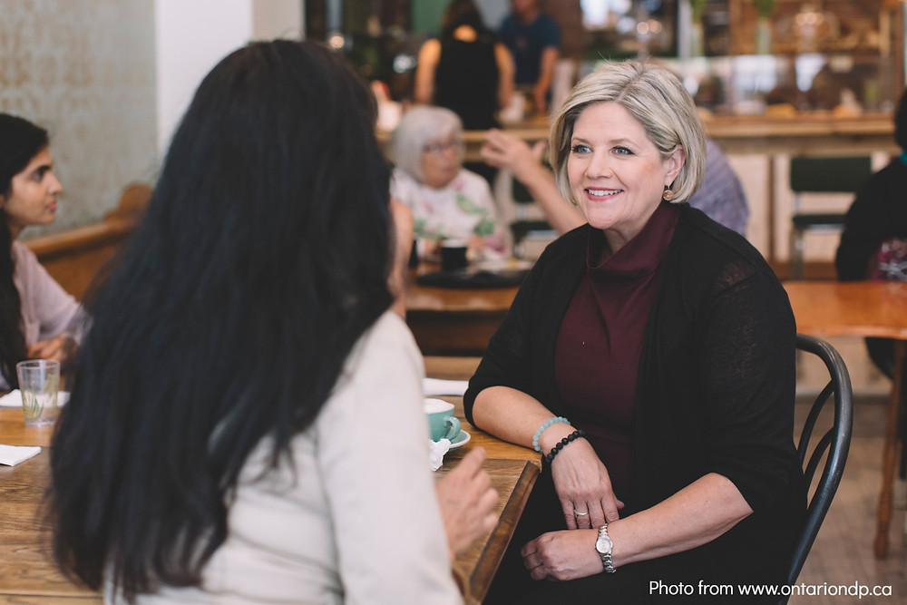 Image of Andrea Horwath via www.ontariondp.ca