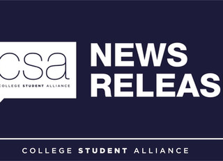 News Release: College Student Alliance calls for binding arbitration