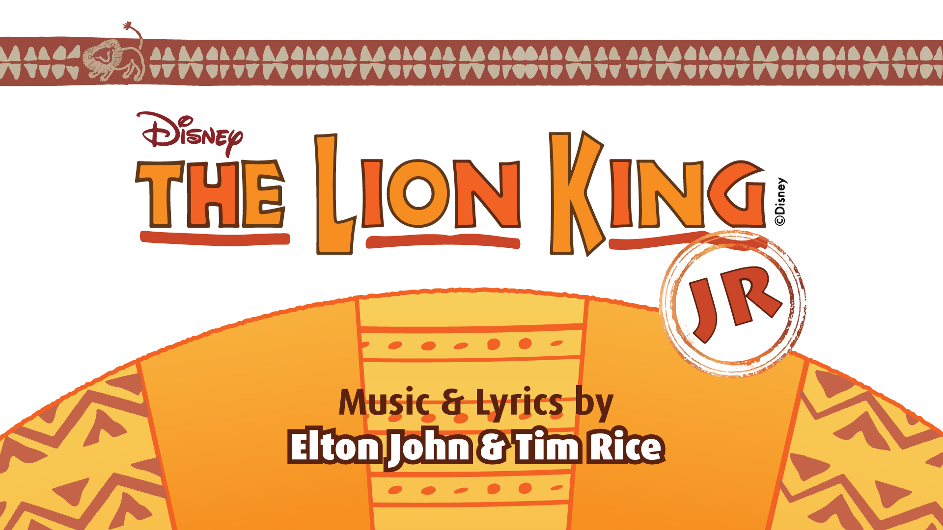 Lion King Jr Summer Camp July 2 13