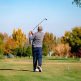 Golfing in Fall