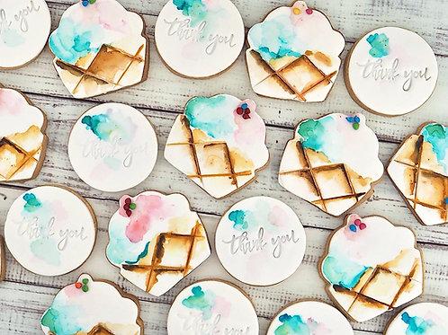 1 Doz Custom Cookies