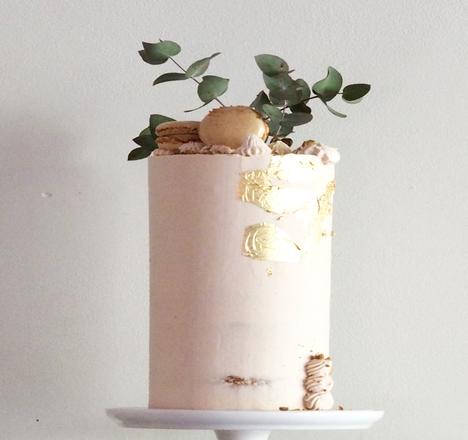 Blush cake