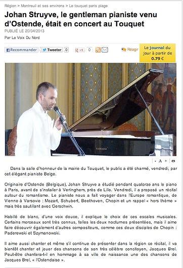 concert au Touquet