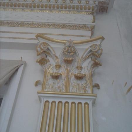 Architectural gilding