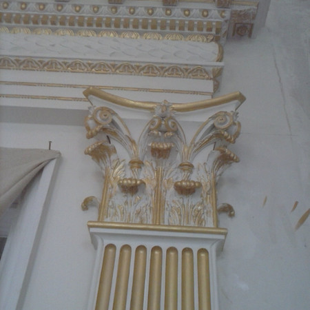 Architectural gilding