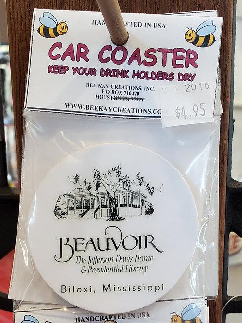 Beauvoir Car Coaster