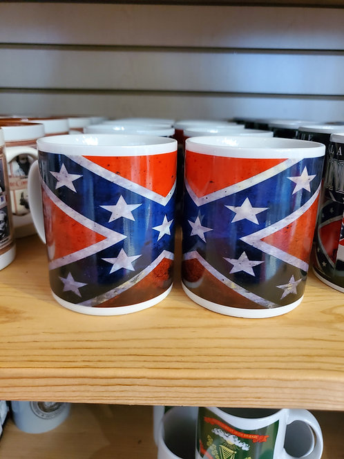 Rustic Battle Flag Mug
