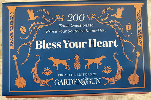 """""""Bless Your Heart"""" Southern Trivia Game"""