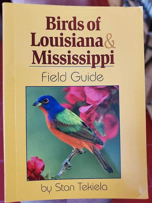 Brids of LA and MS Field Guide
