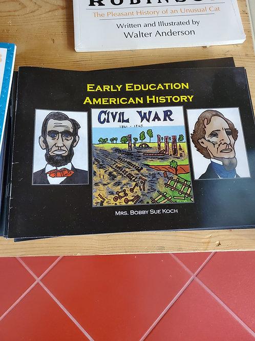 Early Education American History Civil War