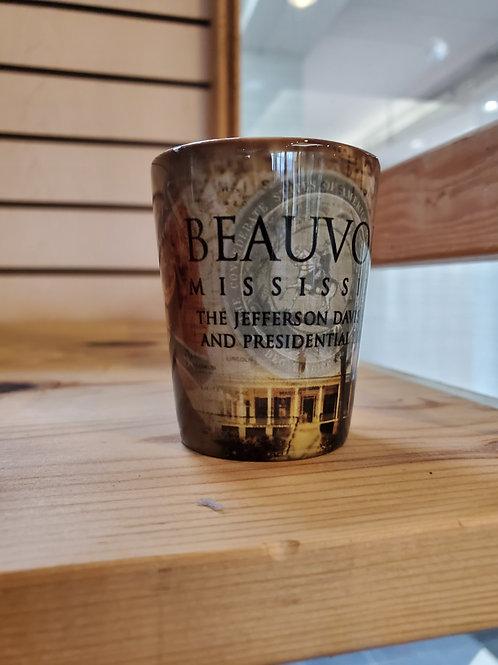 Beauvoir Double-Head Shot Glass
