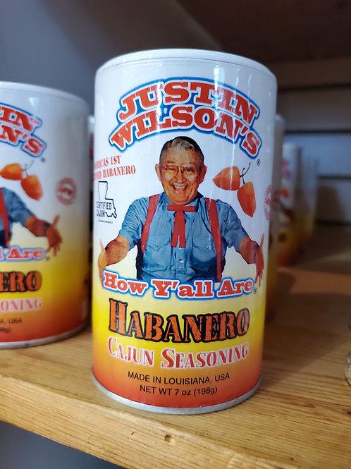 Justin Wilson: Habanero Cajun Seasoning